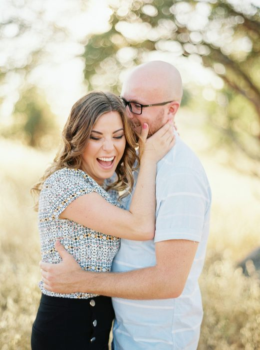 Redding Fine Art Film Engagement Photographer