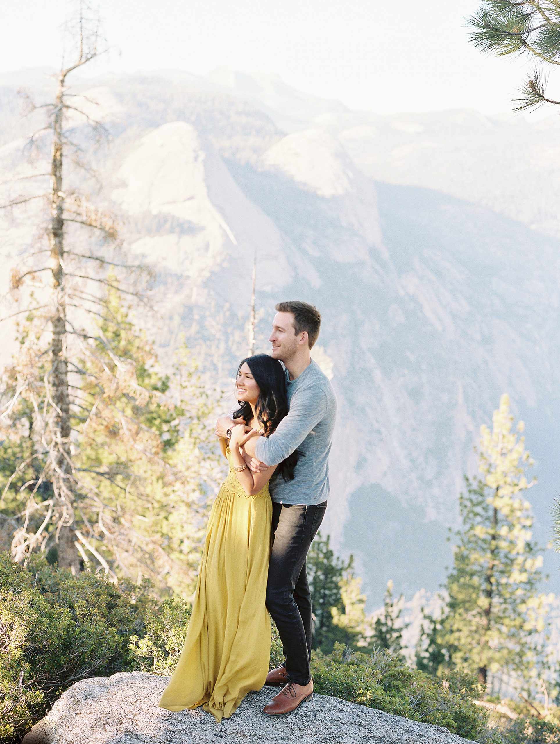 Glacier Point Engagement Photographer