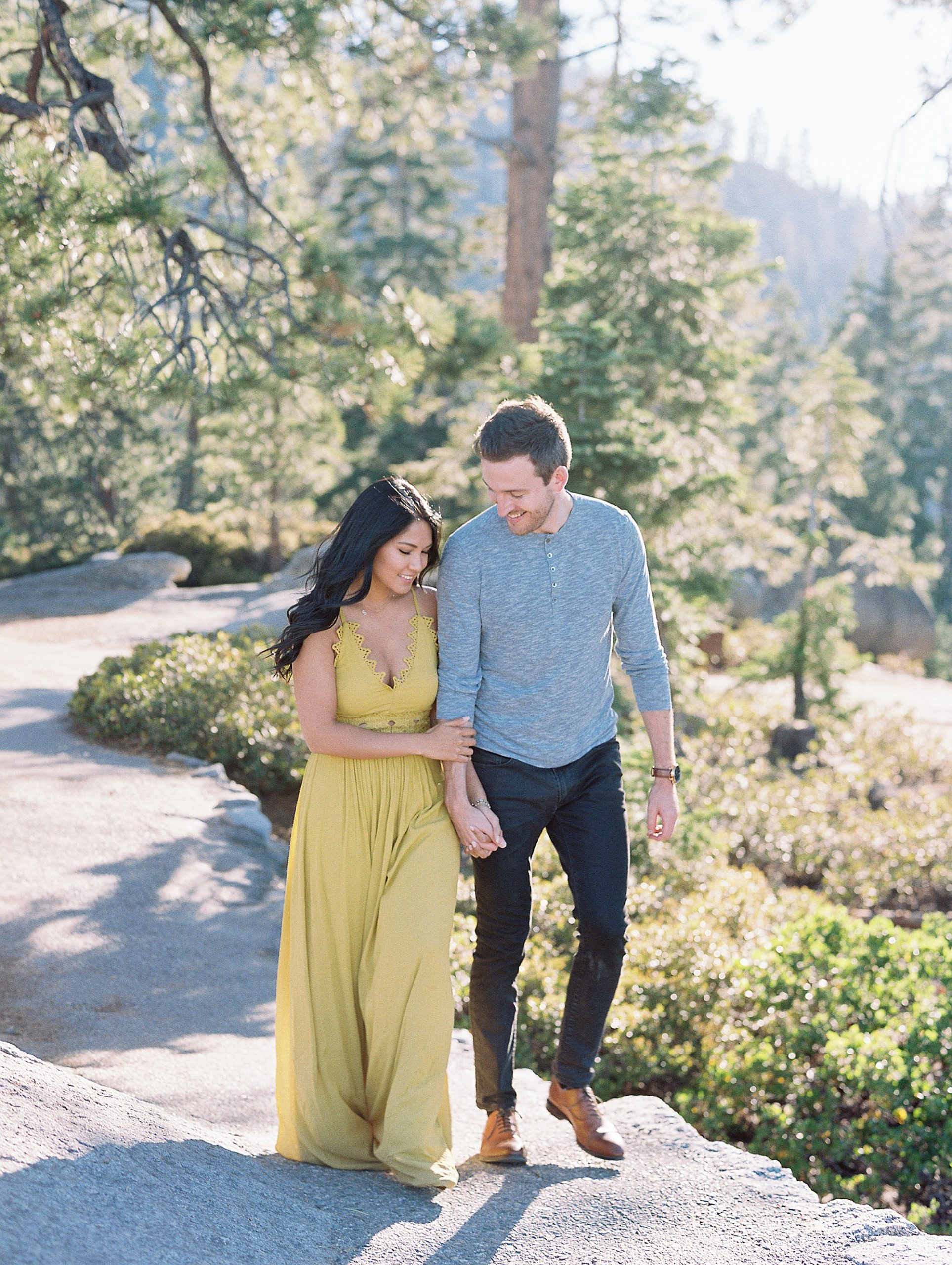 Yosemite Engagement Photographer