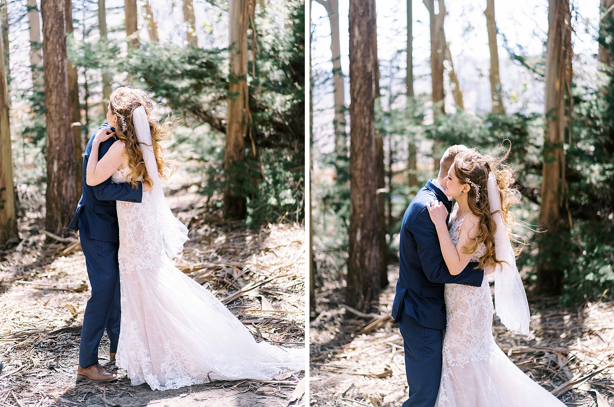 Lover's Lane Wedding First Look