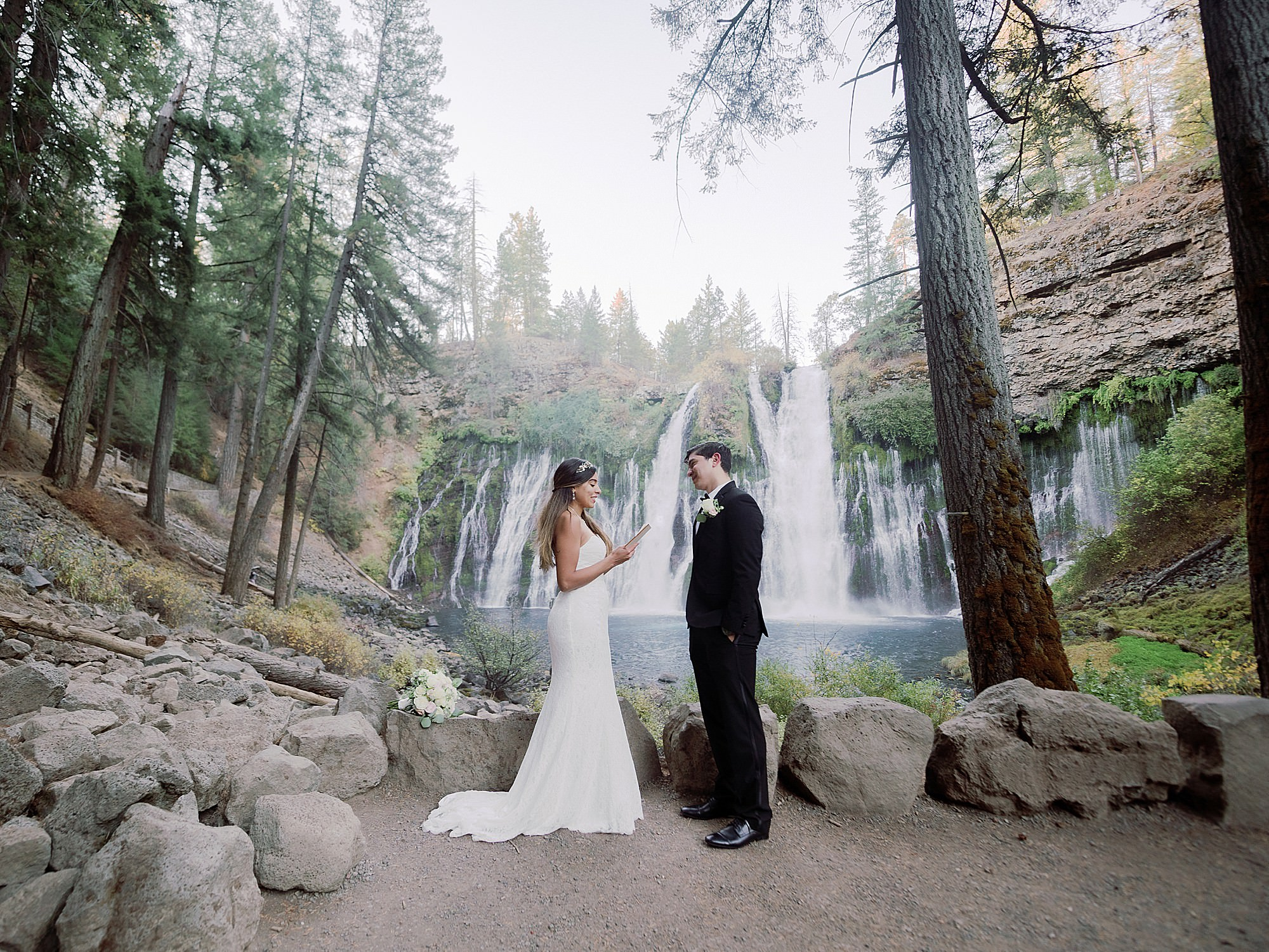 Burney Falls Engagement Photographer