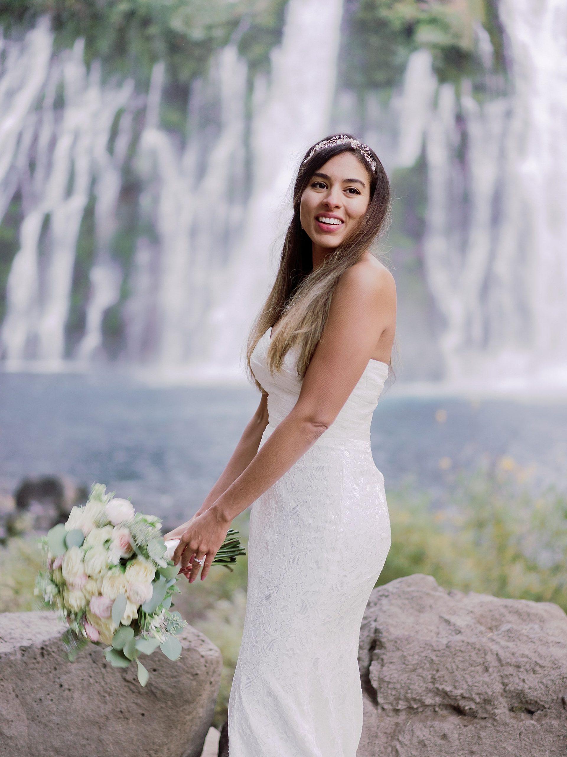 Burney Falls Elopement Photographer