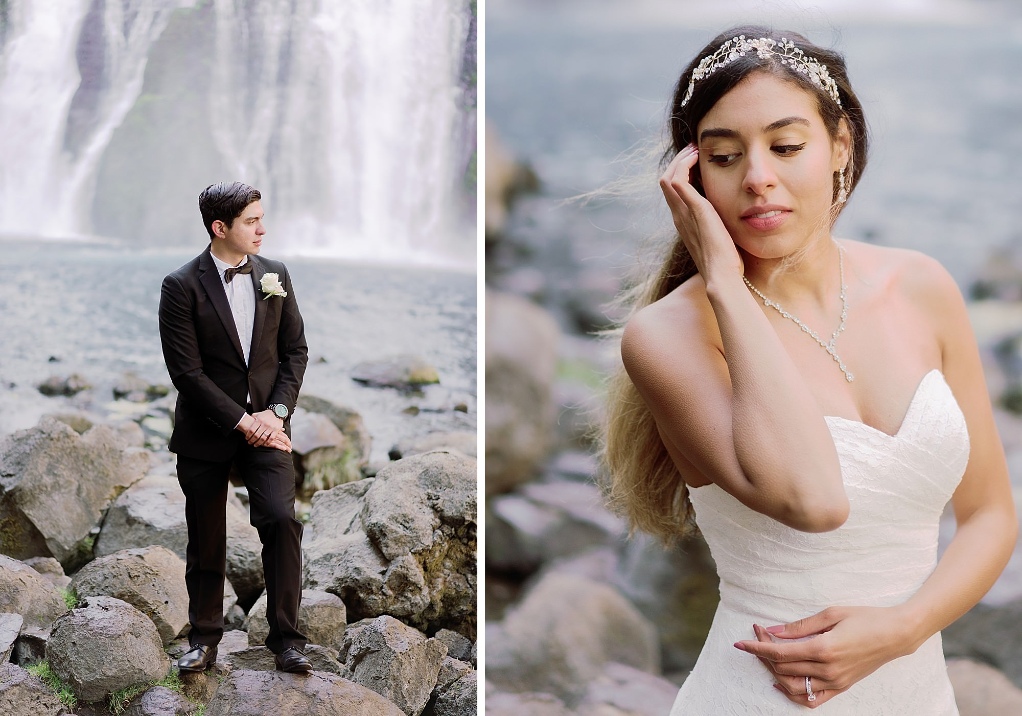 Burney Falls Wedding Photographer